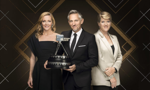 Presenters Gabby Logan, Gary Lineker and Clare Balding are heading to Aberdeen