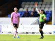 Rory McAllister sees red for ref Lloyd Wilson
