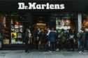 Dr. Martens store in 87-89, Union St, Aberdeen.