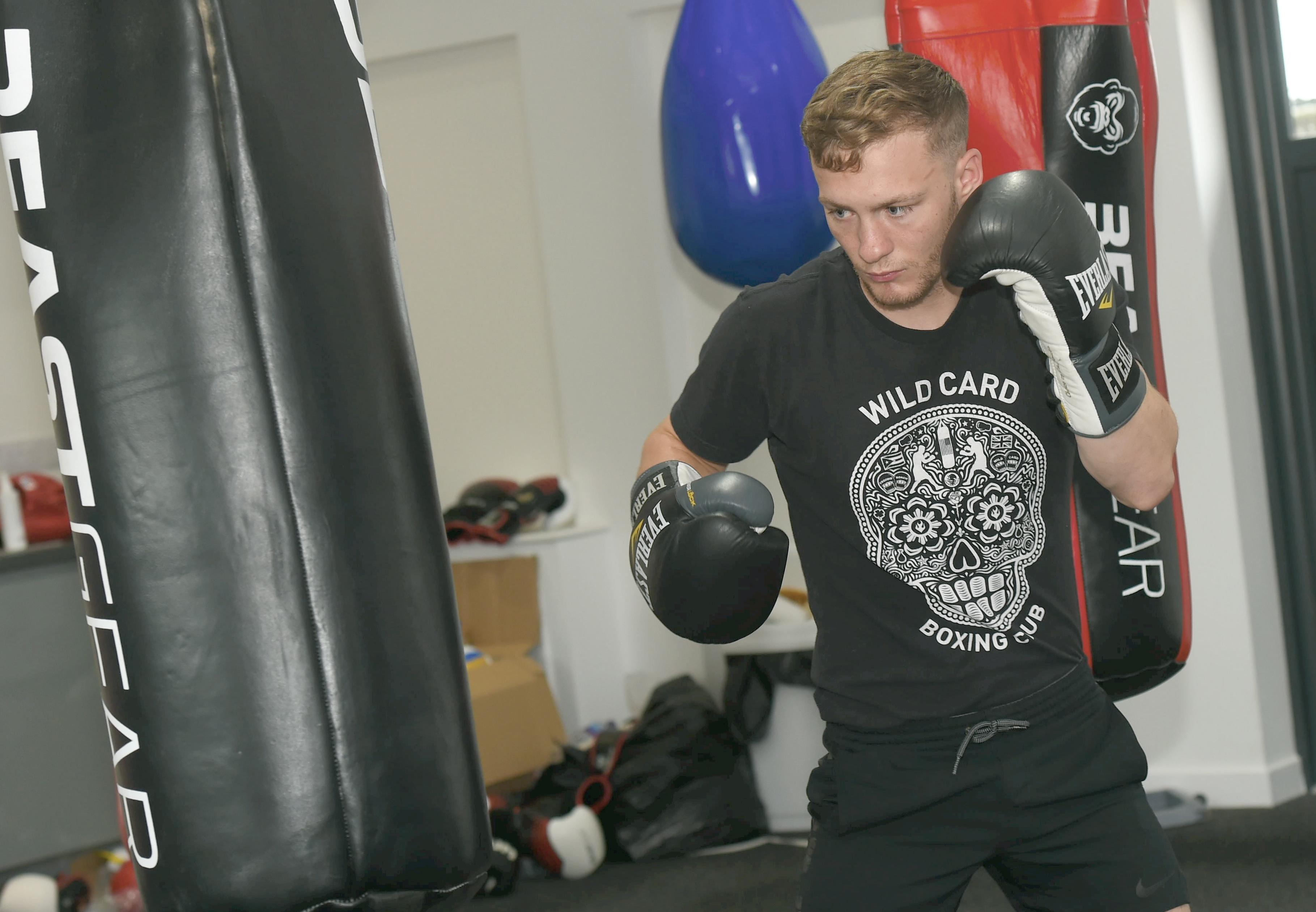 Billy Stuart in training