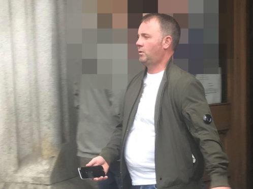 Brian McCann appeared at Aberdeen Sheriff Court