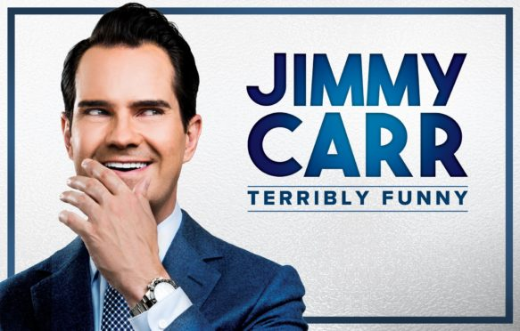 Jimmy Carr's stand-up show is called Terribly Funny