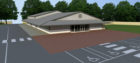 An artist's impression of Peterhead's Gospel Trust's new place of worship which has been approved