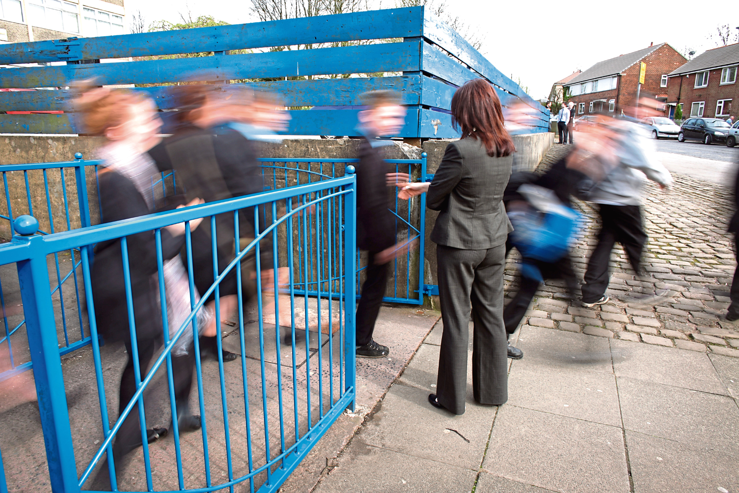 According to the teaching union's survey 57% of teaching staff have been attacked in the past five years