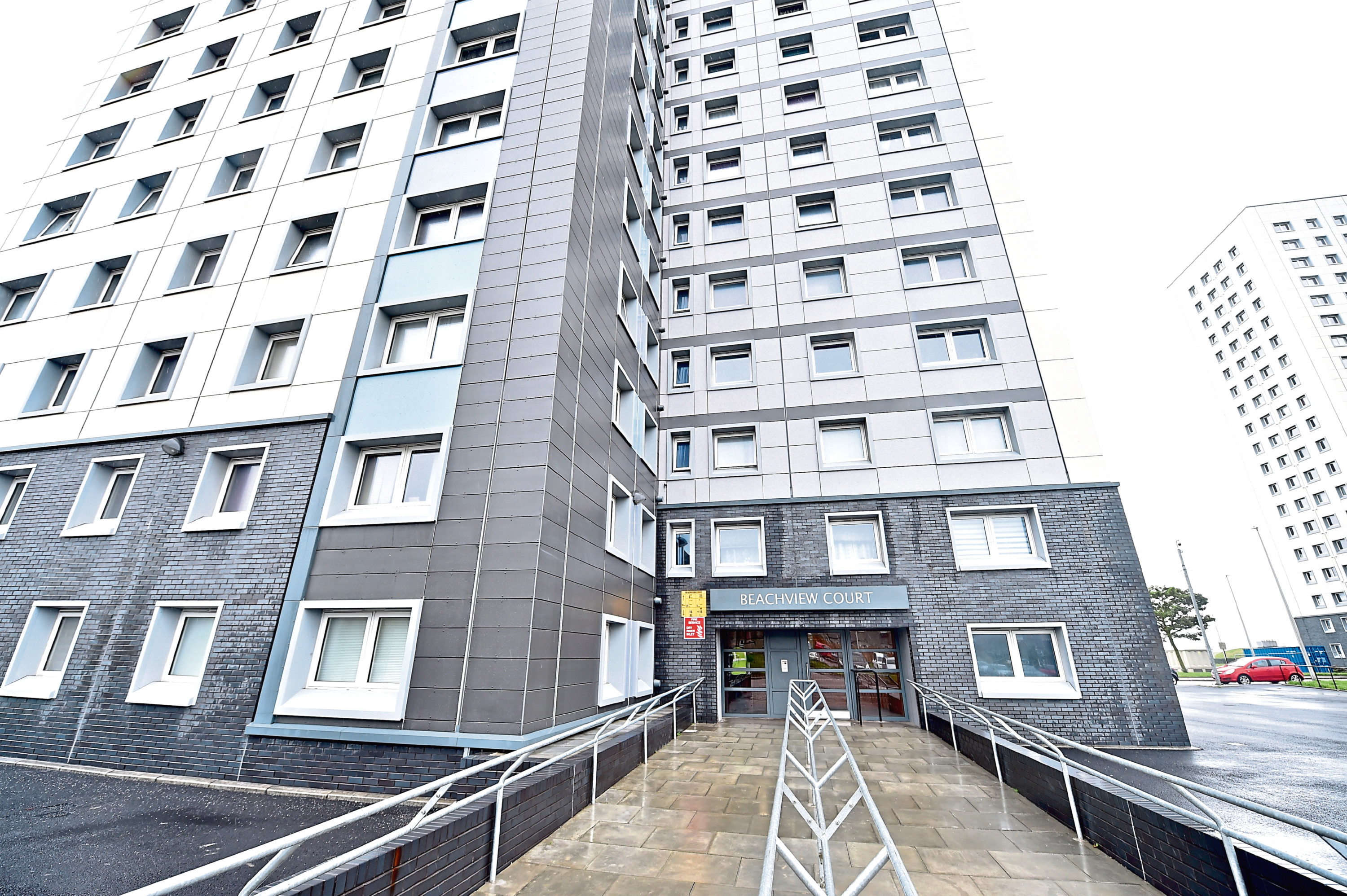 Workers were potentially exposed to asbestos during work at Beachview Court