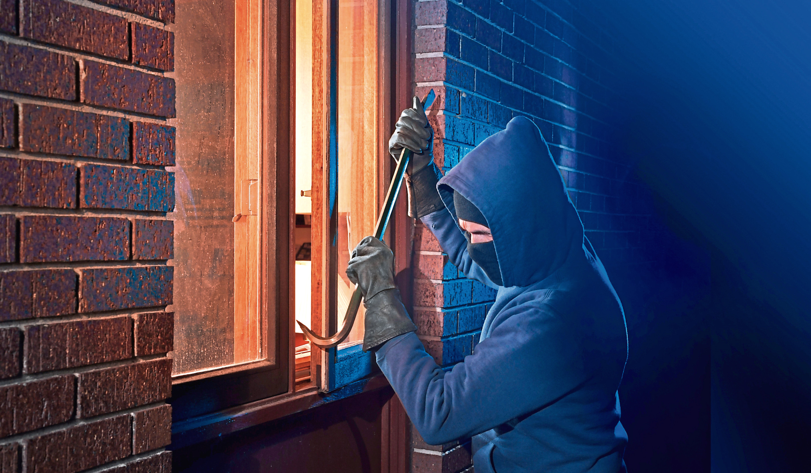 More intruders are being caught after break-ins, according to new police statistics