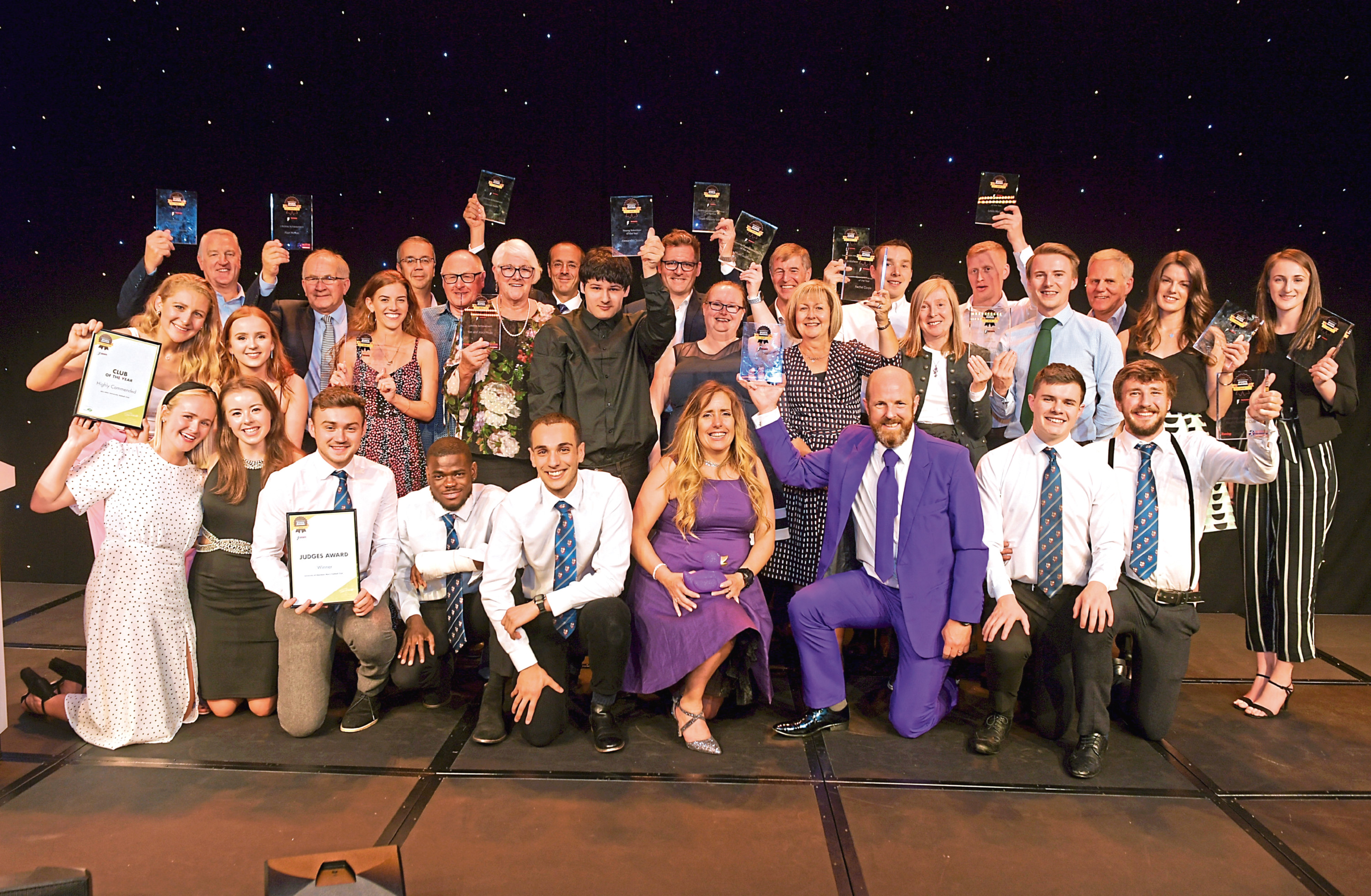 All the award winners. Picture by Kath Flannery