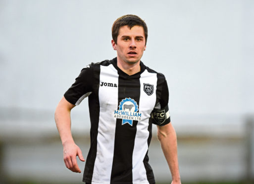 Fraserburgh captain Paul Young. Picture by Darrell Benns