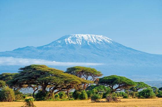 Mount Kilimanjaro in Amboseli