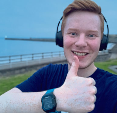 Running helped Joe to cope