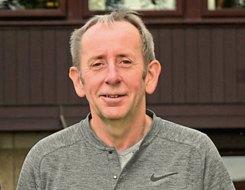 Newmachar chairman Gordon Angus.