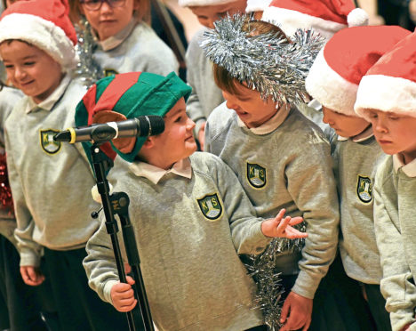 Hundreds of youngsters will take their first steps on a professional state to perform in the Evening Express Carol Concert at the Music Hall