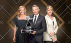 Presenters Gabby Logan, Gary Lineker and Clare Balding