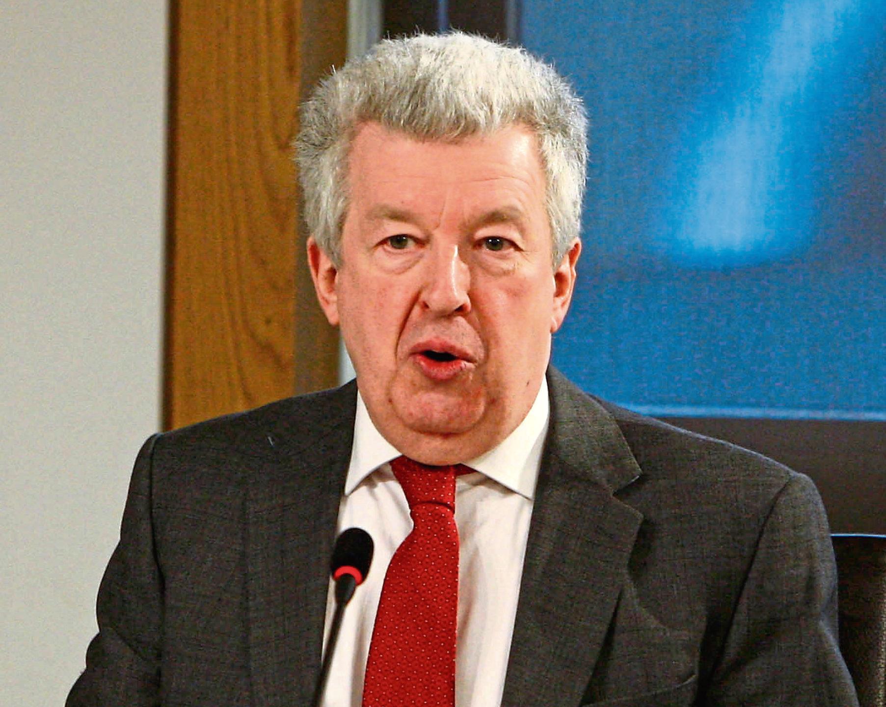 North-east MSP Lewis Macdonald