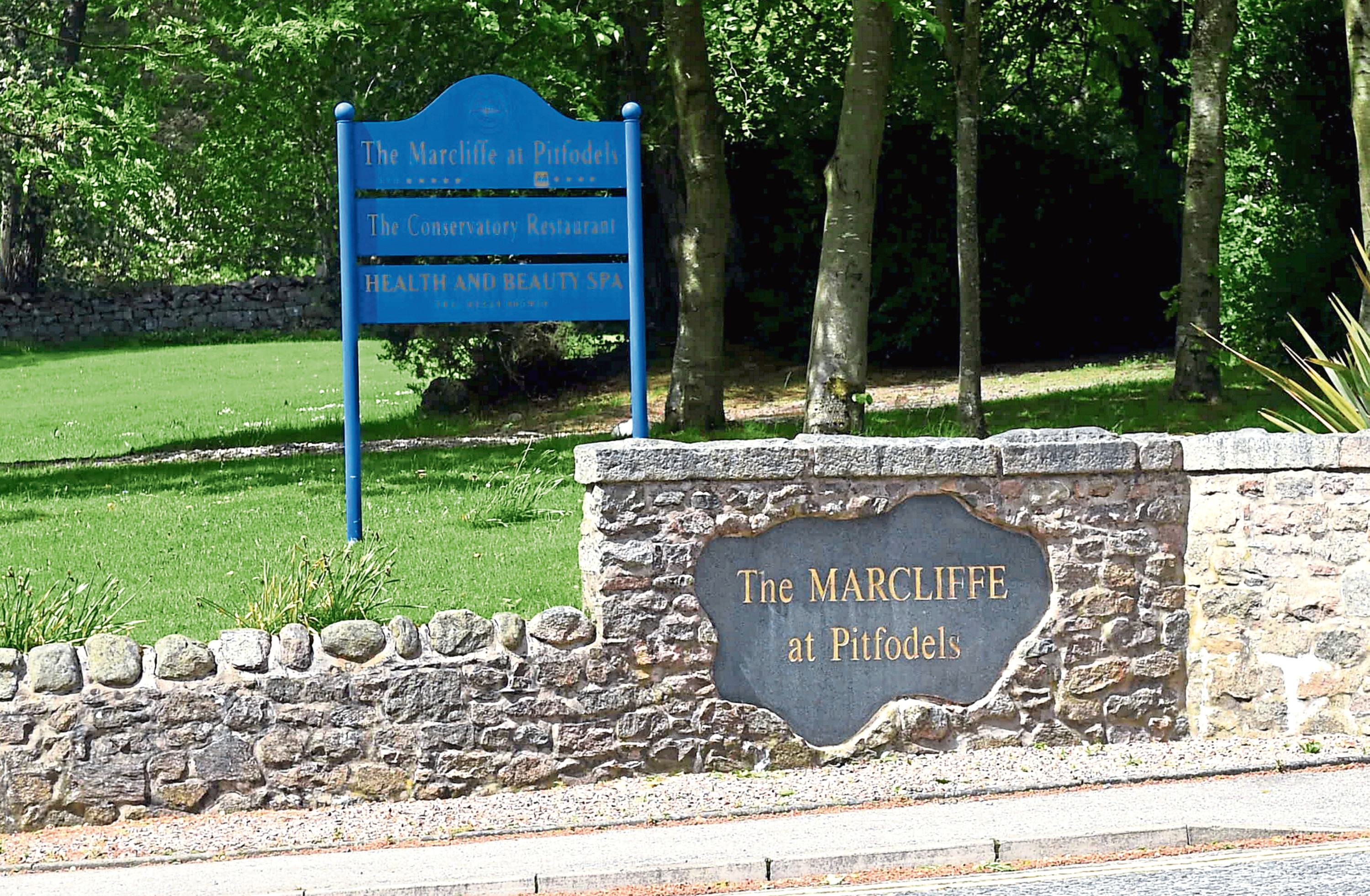 The Scottish Government have backed plans for the care home next to the Marcliffe Hotel