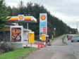The incident happened at the Shell petrol station on Wellington Road