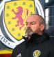 GLASGOW, SCOTLAND - OCTOBER 13: Scotland manager Steve Clarke is pictured during the UEFA European qualifier between Scotland and San Marino, on October 13, in Glasgow, Scotland. (Photo by Craig Williamson / SNS Group)