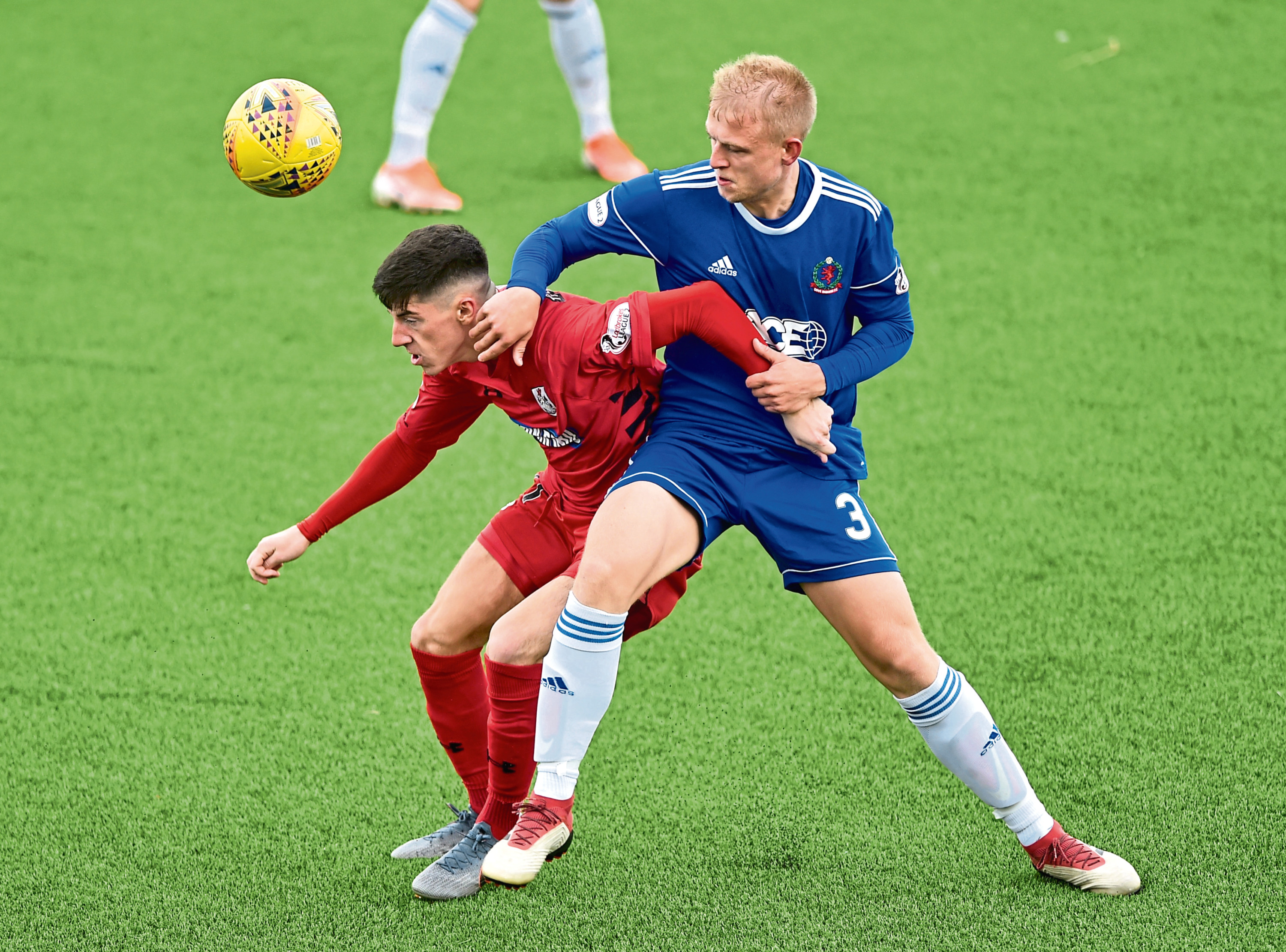 Cove's Harry Milne. Picture by Colin Rennie