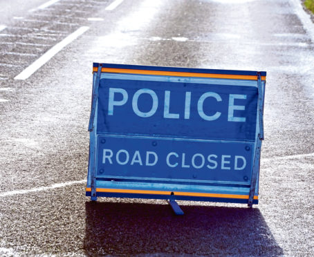 A section of Victoria Road has been shut