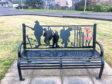 Pic of the repaired Queen's Den memorial bench