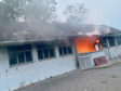 Concerns have been raised the Kaimhill sports Pavilion has not yet been demolished following a fire in September