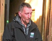 Wayne Whyte leaving Aberdeen Sheriff Court