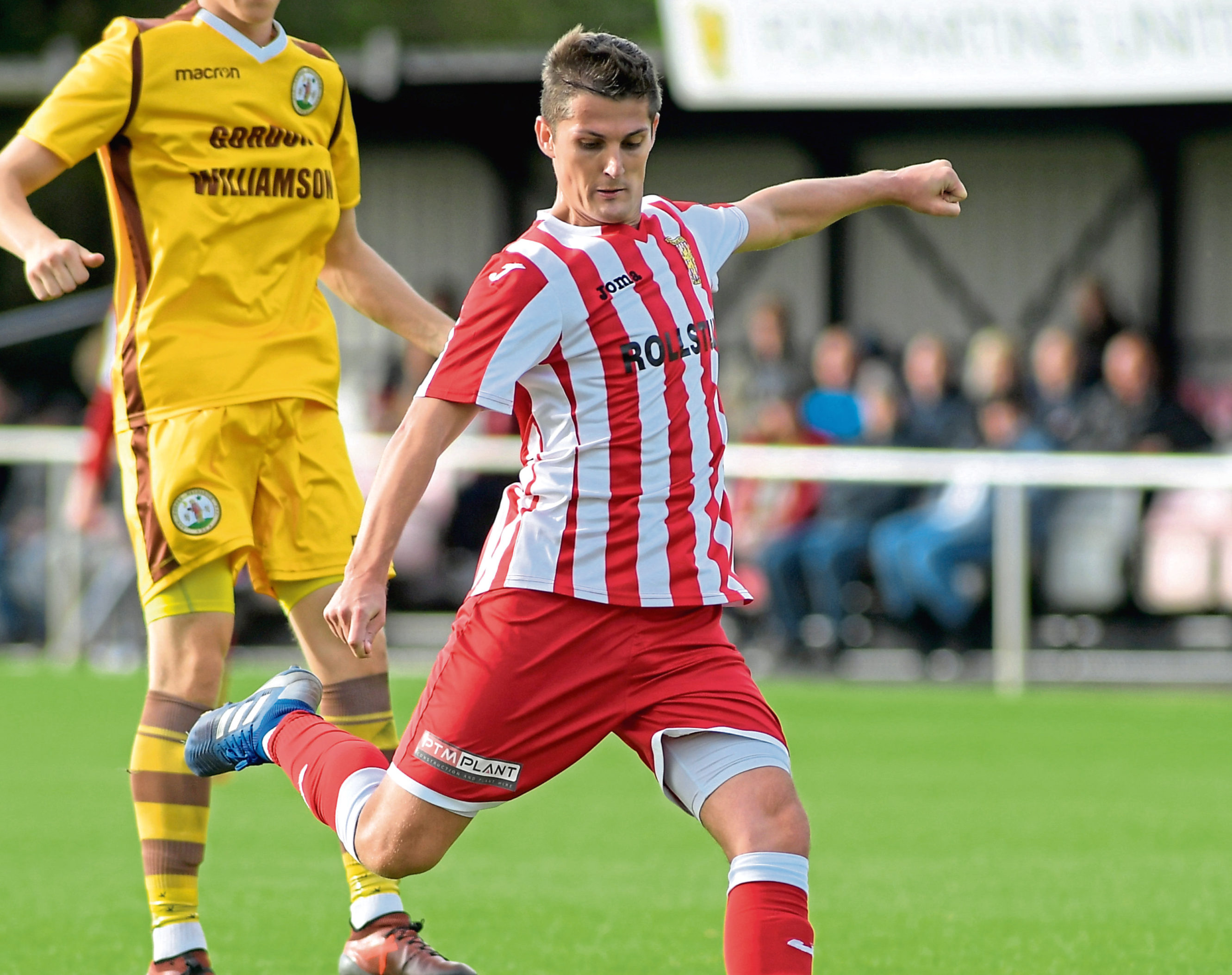 Formartine's Daniel Park. Picture by Kath Flannery