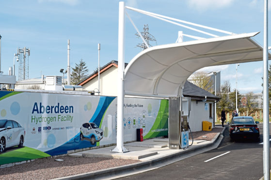 Hydrogen refuelling stations will be adapted.
