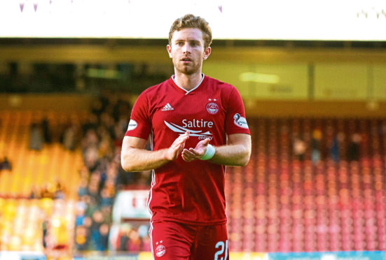 Aberdeen's Jon Gallagher.