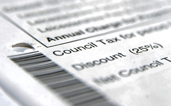 The number of people claiming a council tax reduction has hit a five-year high