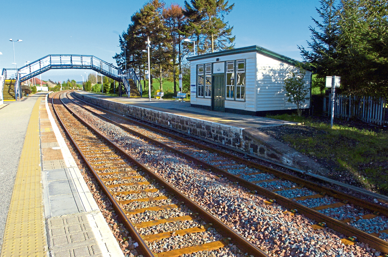 Insch Railway Station
