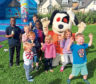 Around 120 people attended a BBQ event at the Kirkwood Homes' Ury Estate development, just outside Stonehaven