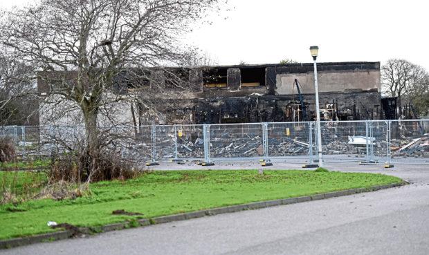 Cordyce School was hit by  fire in 2017