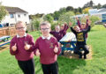 Auchterellon School is taking part and hopes to spend the money on their garden. Picture by Scott Baxter