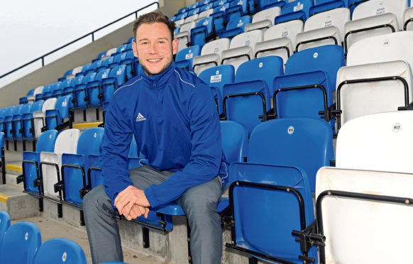 Cove Rangers player Mitchel Megginson. Picture by Kath Flannery