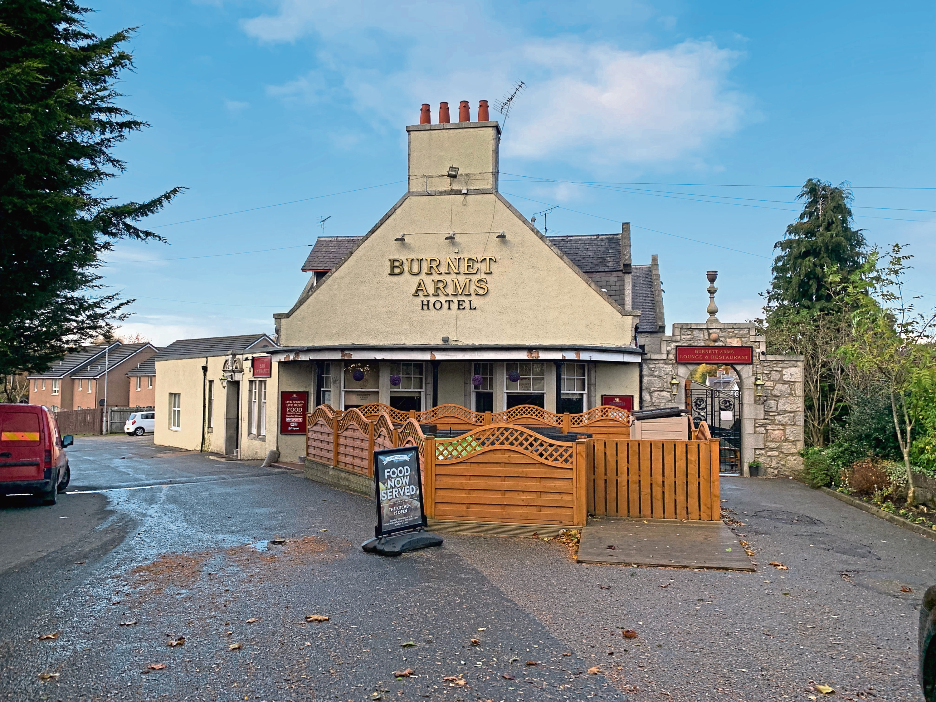 The Burnett Arms in Kemnay