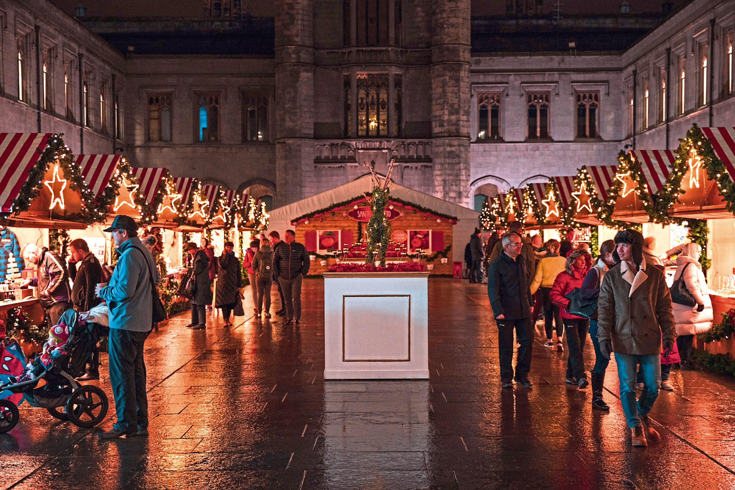 Aberdeen Christmas village in Broad Street forms the centrepiece for the winter festival programme