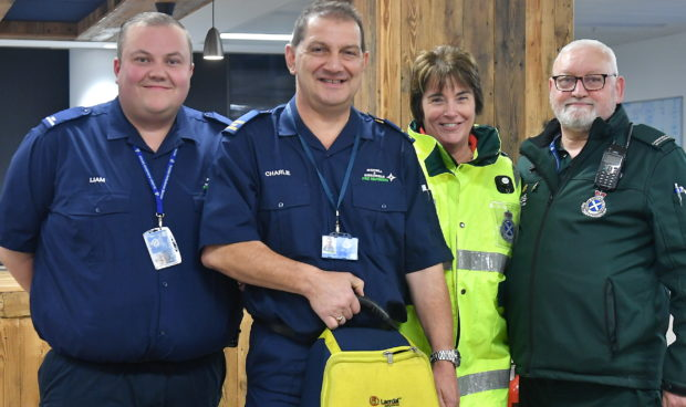 Westhill First Responders are backing Restart a Heart Day