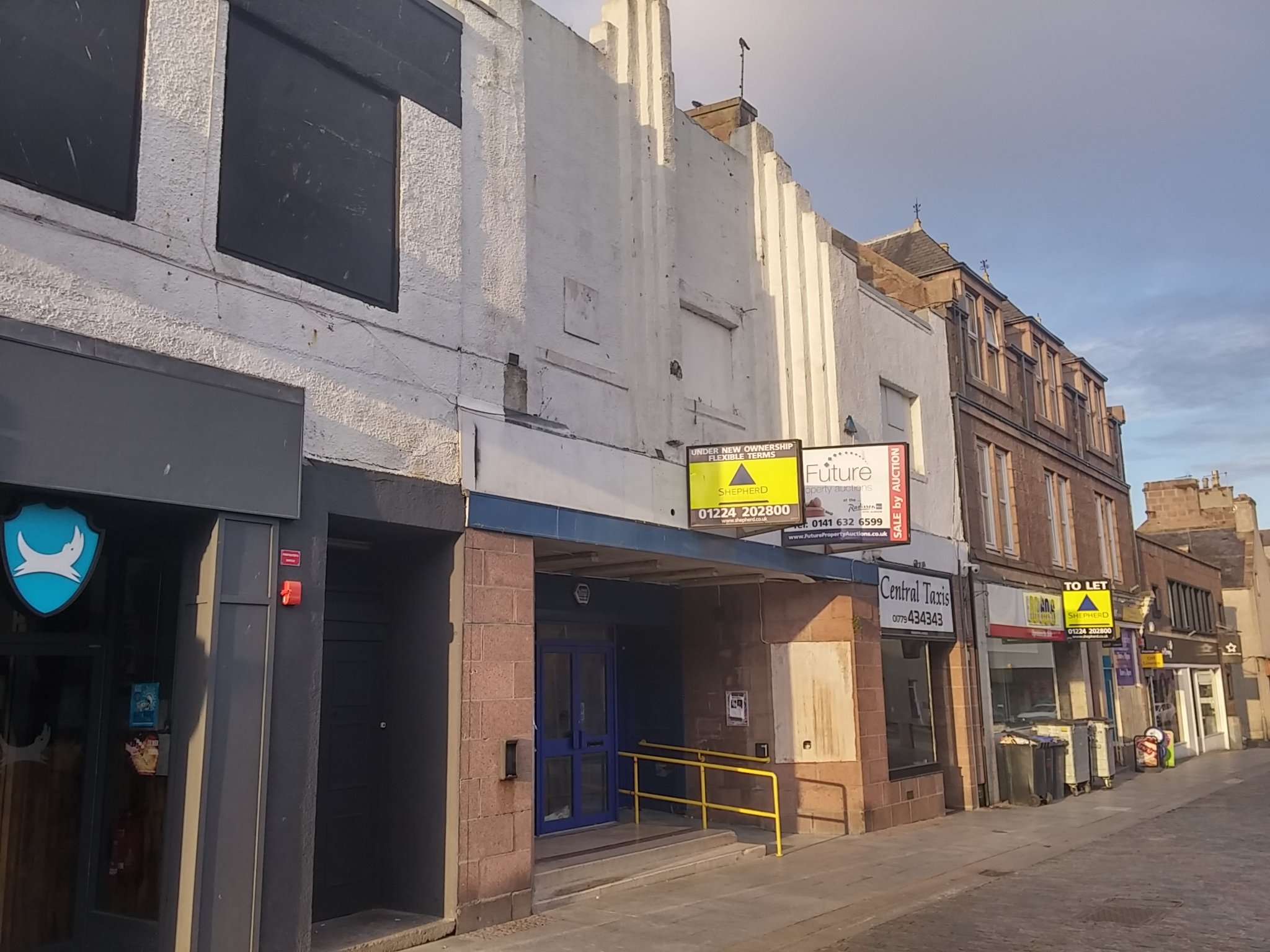 The former bingo hall on Peterhead's Marischal Street