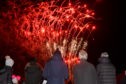 Around 4,000 spectators went along to the event to catch the pyrotechnic extravaganza light up the sky above the town