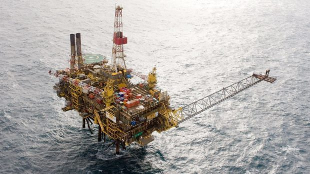 The Gannet Alpha installation. Pic: Shell