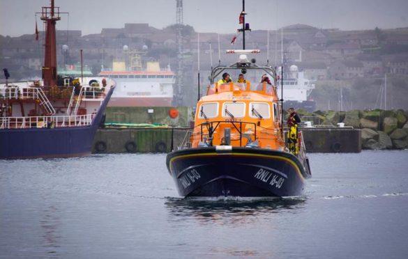 The Peterhead Lifeboat