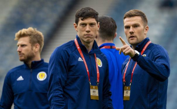 Scotland and Aberdeen pair Scott McKenna and Mikey Devlin
