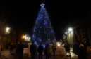 The Christmas tree at the Castlegate will be switched on later this month