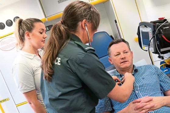 Paramedics will be trained at Robert Gordon University