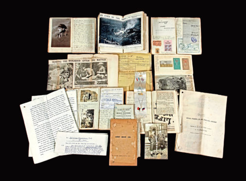 The Aberdeen University graduate wrote about his wartime experiences in a collection of diaries, which have been bought by the university's special collections team
