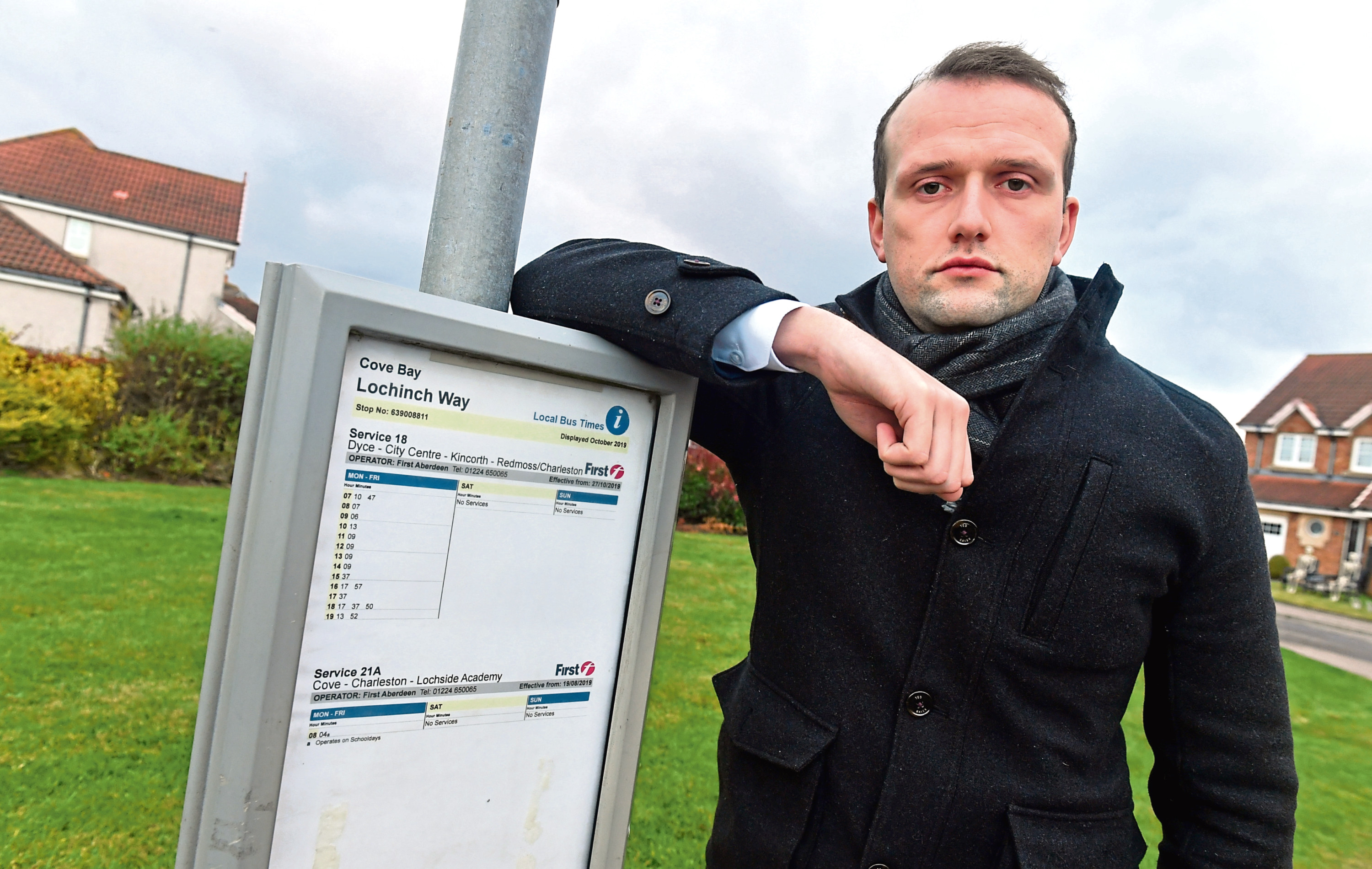 Councillor Stephen Flynn has criticised the changes to bus services.