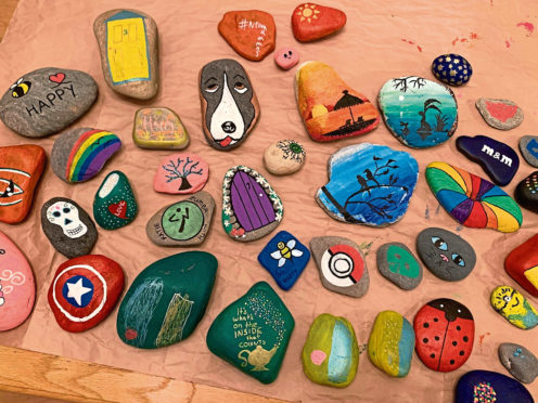 Painted rocks  Pictures submitted via Emma Morrice 18/10/19