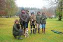 Club members Jenna Humphrey, Lucy Crow, Hazel Dingwall, Barbara Lumsden, Kim Shearer and Alex Porter