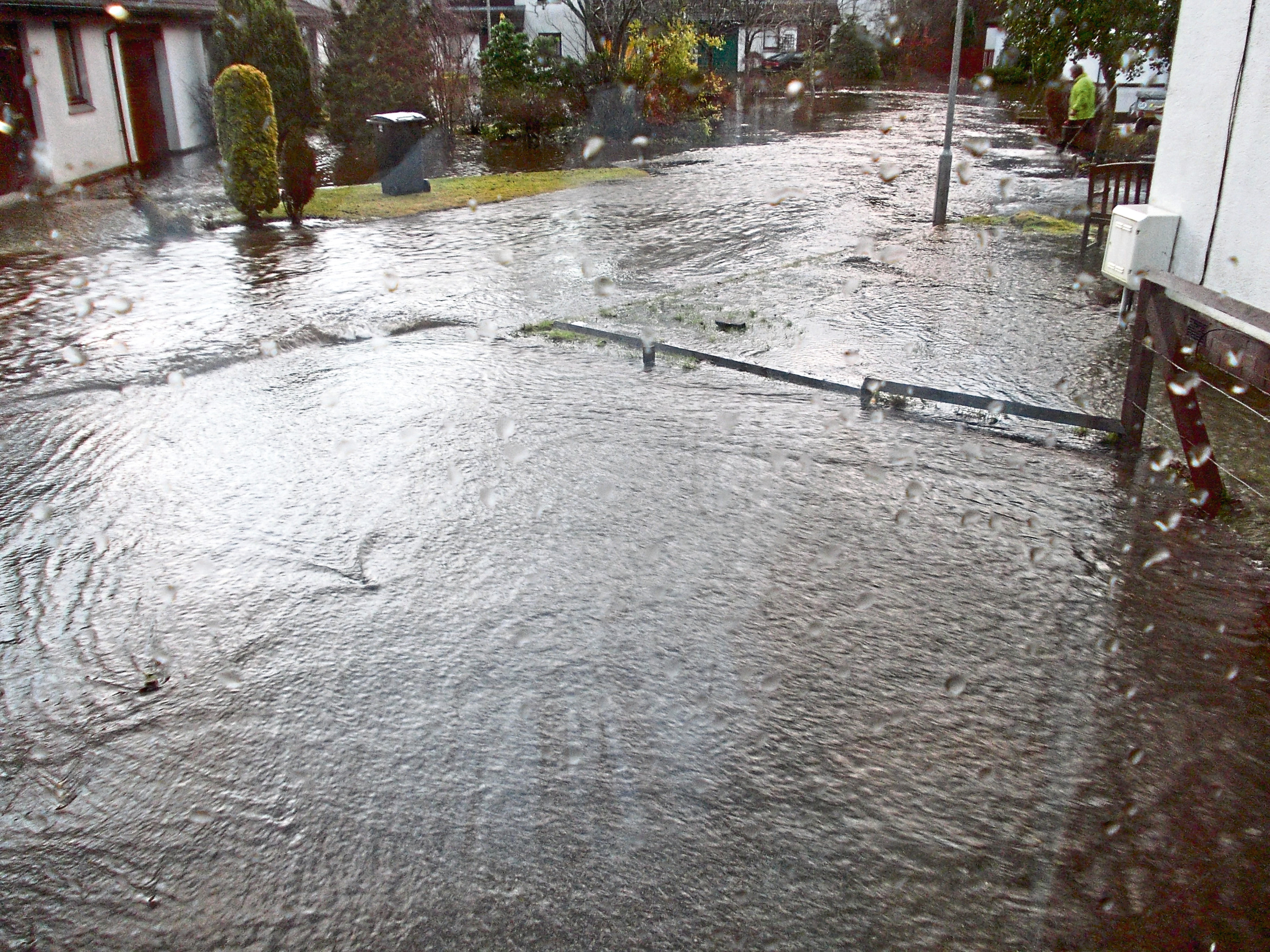 Peterculter was hit by flooding during Storm Frank